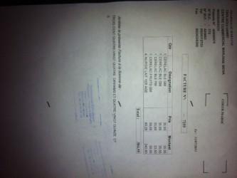 facture don marrakech