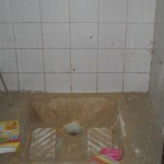 Toilettes de l'internat