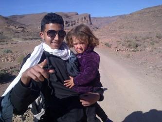 petite fille et Redouane