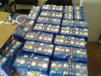 packs de lait