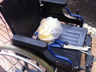 le fauteuil roulant