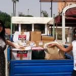 Reception des colis à l'agence de Marrakech