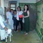 La famille Saniba, Houda et Lucie