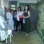 La famille Saniba, Lucie et Houda