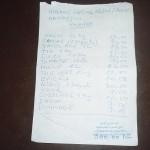 La facture du panier alimentaire