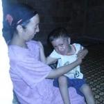 Fadma et son fils