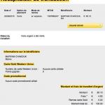 Justificatif des dons 100 €