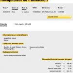 Justificatif des dons 263 €